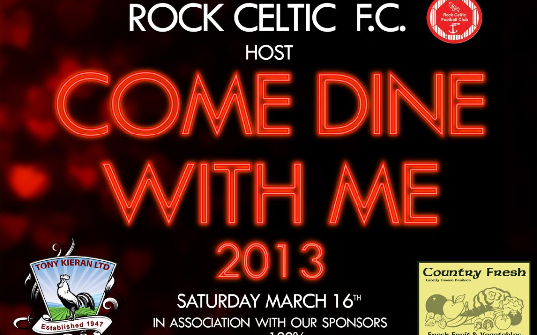 WANTED: Hosts for the Club's Come Dine With Me fundraiser on 16 March 2013