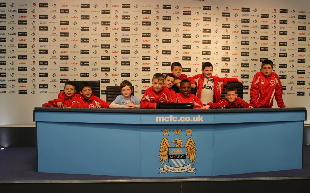U10's trip to Man City Academy