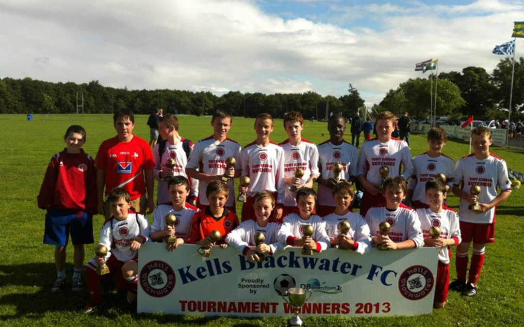 Rock Celtic U14's win Kells Tournament
