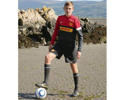 Rock Celtic U16 player signs for Manchester Utd