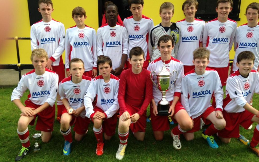 Rock Celtic U15's win Carrick tournament