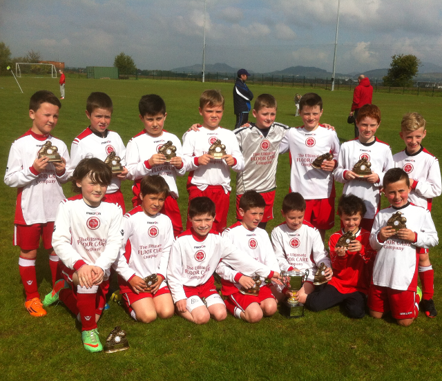 2013/14 – DSBL U10 Premier League champions & Cup winners