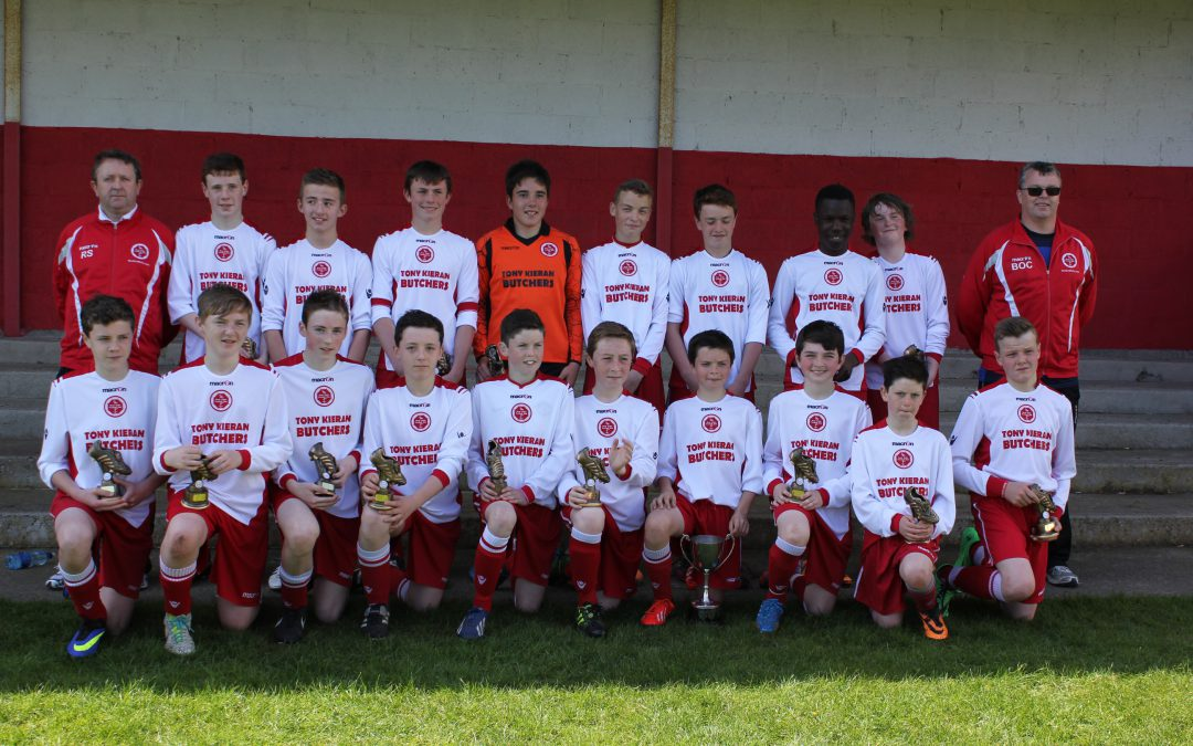 2013/14 – DSBL U14 Premier League champions & Cup winners
