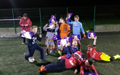 Rock Celtic U11 Christmas Training
